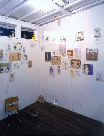 interior of white house installation by yoshimoto nara