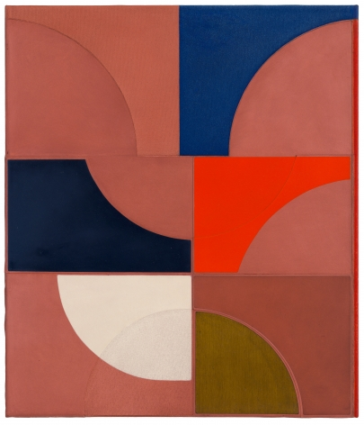 Svenja Deininger painting on view in our Chelsea gallery