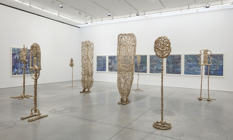 The Protectors (Installation View), Boesky East, 2017