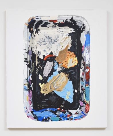 Material Evidence (Tray), 2014, Acrylic on linen