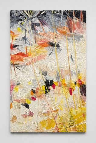 Elegy for whatever(the angular appearance), 2016, Oil on linen