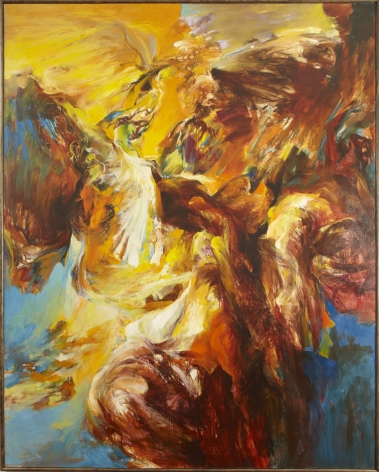 painting of an ascension by richard lytle