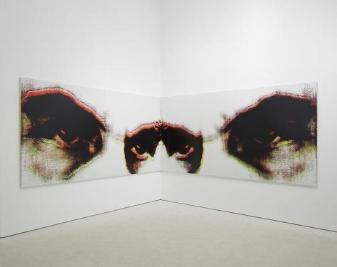 Andisheh Avini(Installation View), Marianne Boesky Gallery, 2014
