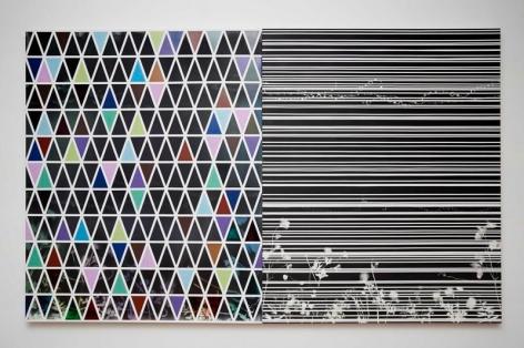 Untitled, 2014, Spray paint on canvas