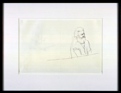 Mr. Gay in the U.S.A. #10,2001, Graphite on paper