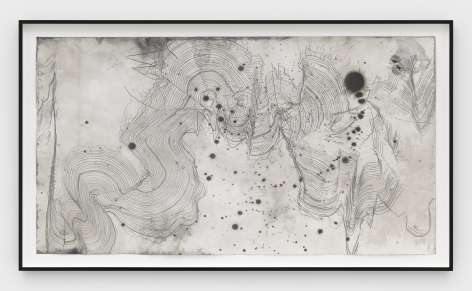 a pencil and ink on paper contemporary artwork by jay heikes available to buy