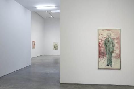 Hannah Van Bart(Installation View), Marianne Boesky Gallery, 2011