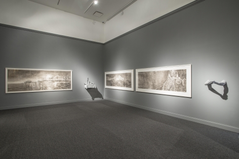 The Drawing Room(Installation View), Marianne Boesky Gallery, 2015