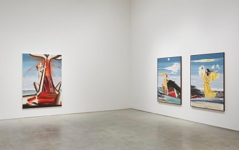 If Wishes Were Fishes (Installation View), 	Marianne Boesky Gallery, 2012