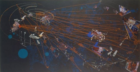 Sarah Sze, 	Night, 2005