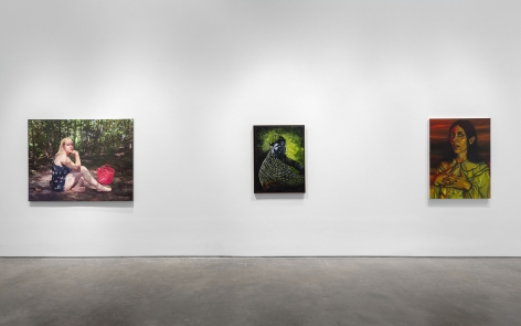 Xenia: Crossroads in Portrait Painting (Installation View), Marianne Boesky Gallery, 2020