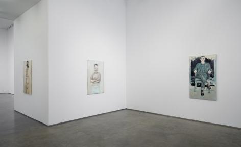 Hannah Van Bart (Installation View), Marianne Boesky Gallery, 2014