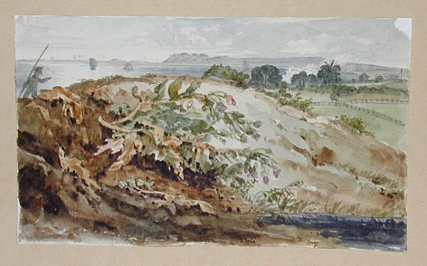 JOSEPH MICHAEL GANDY (British, 1771-1843), Watercolor #92