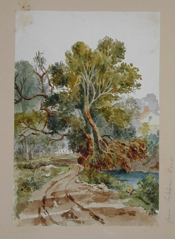 JOSEPH MICHAEL GANDY (British, 1771-1843), Watercolor #10