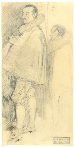 RICHARD PARKES BONINGTON(British/French, 1802-28), Study from Fête donnée à l'occasion de la Trève de 1609 by Adriaen van der Venne, circa 1827