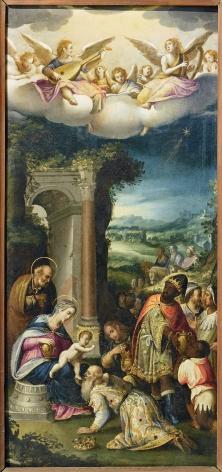 PROSPERO FONTANA (Italian, 1512-97), The Adoration of the Magicirca 1560-1570