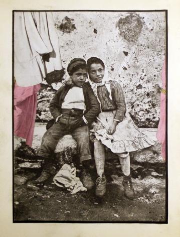 Joseph Cornell, Untitled, Two Children, 1934