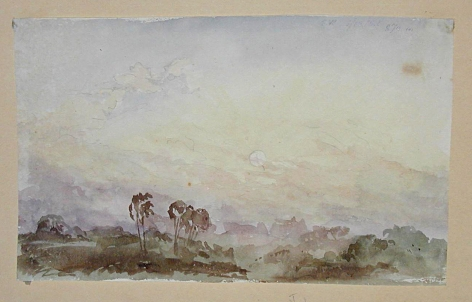 JOSEPH MICHAEL GANDY (British, 1771-1843), Watercolor #86