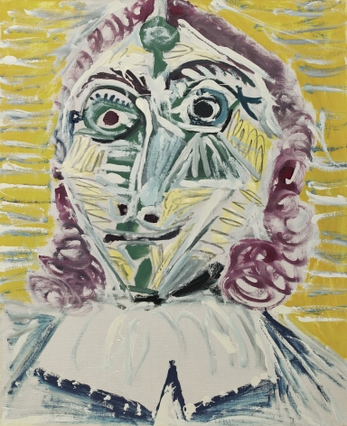 Picasso, Mousquetaire. Buste, 1967