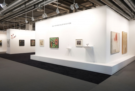 Installation view of Art Basel | Basel 2017, booth H5.  © 2018 Calder Foundation, New York / Artist Right Society (ARS), New York. ©Helly Nahmad Gallery NY