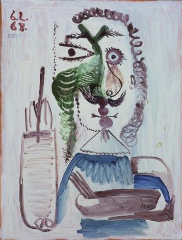 Pablo Picasso, Le Peintre, 1968