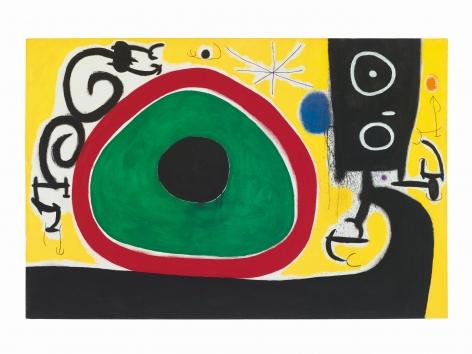 Joan Miró, Oiseaux en Fête pour le lever du Jour, 21 Mars 1968