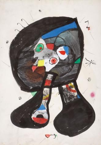 Joan Miró, Fantôme de l'Atelier, 1981