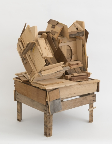 Inside Out,2010, Wood