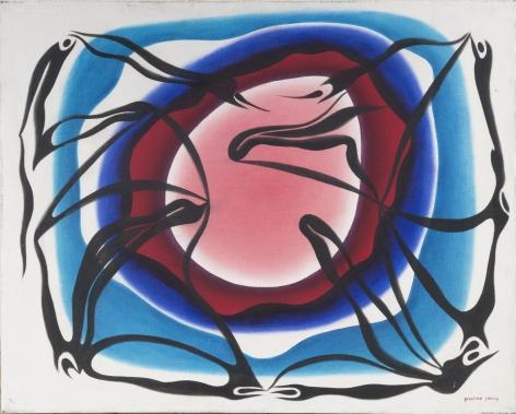 Phantasma 55, c. 1980, Oil on canvas