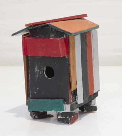 Untitled (Birds), n.d., Acrylic on foamcore
