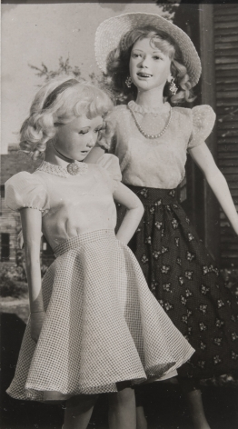 Untitled (Two Girls), c. 1950, Gelatin silver print