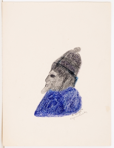 Untitled, 1954, Crayon on paper