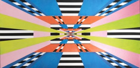 Untitled, 2018, Acrylic on panel