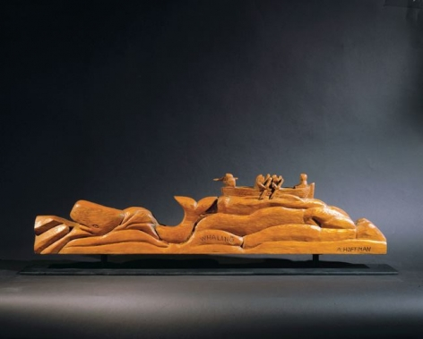 Whaling, 1971, Yellow spruce