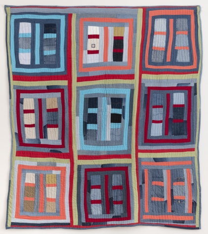 Lucy Mingo (b. 1931), Housetop variation quilt,n.d.