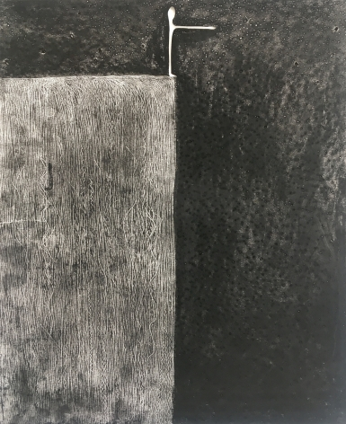 Untitled, 2020 Charcoal, graphite, oil pastel, artist finger oils on drawing paper