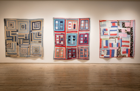 Beverly Buchanan, Thornton Dial, and the Gee's Bend Quiltmakers