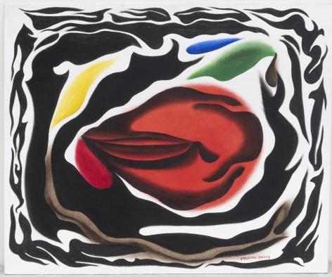 Phantasma 13, Series 60,c. 1980, Oil on canvas