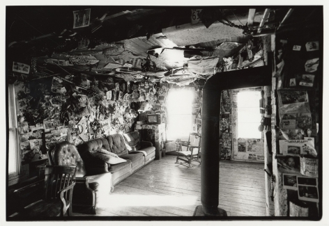 The Hotel (interior view), 2001, Silver gelatin print