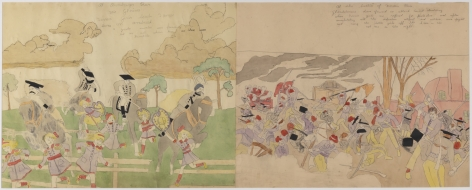 Henry Darger, Untitled (verso),n.d.