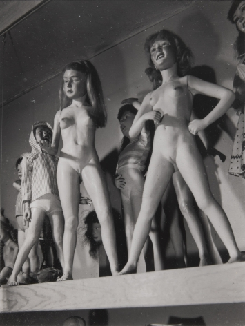 Untitled (Nude girls), c. 1950, Gelatin silver print