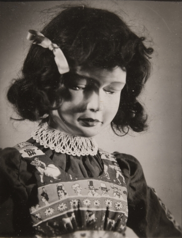 Untitled (Doll's Head), c. 1950, Gelatin silver print