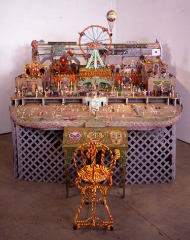 Dedicated to Coney Island, 1984-2002, mixed media