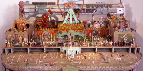 Dedicated to Coney Island, 1984-2002 (detail),