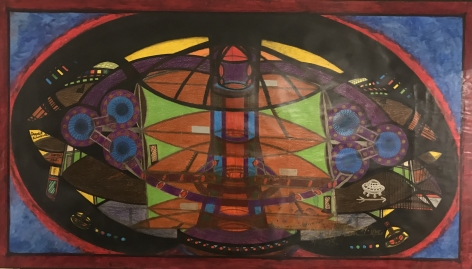 Spiritual Technology--Special Design, 2003, Mixed media on paper