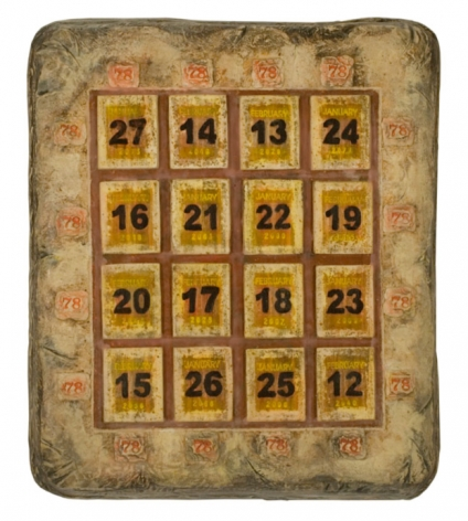 Magic Square, 2009, Ceramic