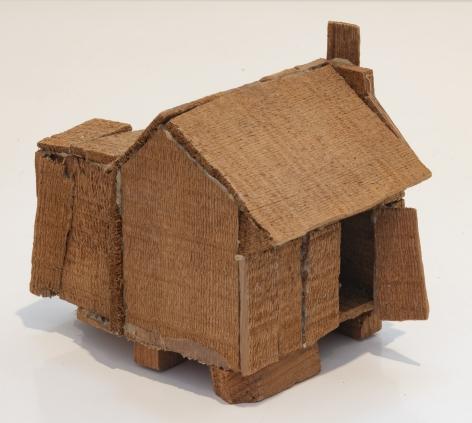 Untitled, 1991, Wood shack