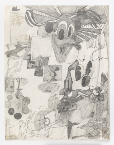 Untitled, c. 1963 - 1964, Graphite on paper
