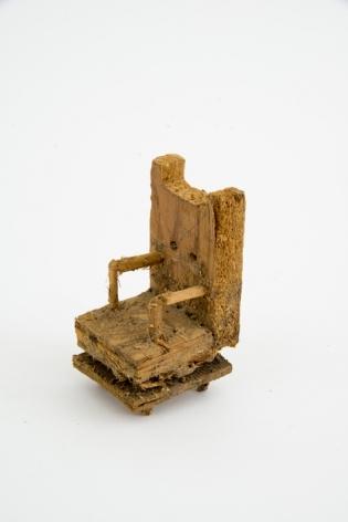Untitled, n.d., Wood, glue and sawdust