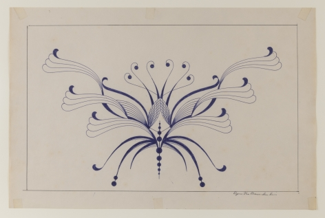 Untitled, n.d. Ballpoint pen on paper